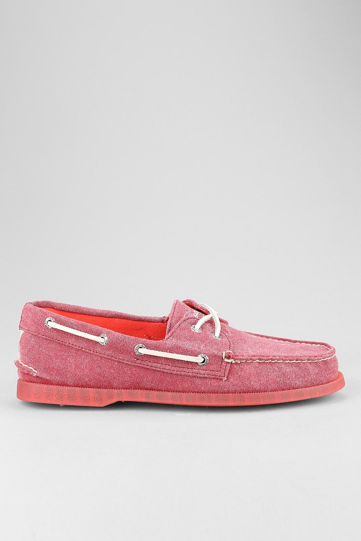 Sperry Topsider Red Shoes