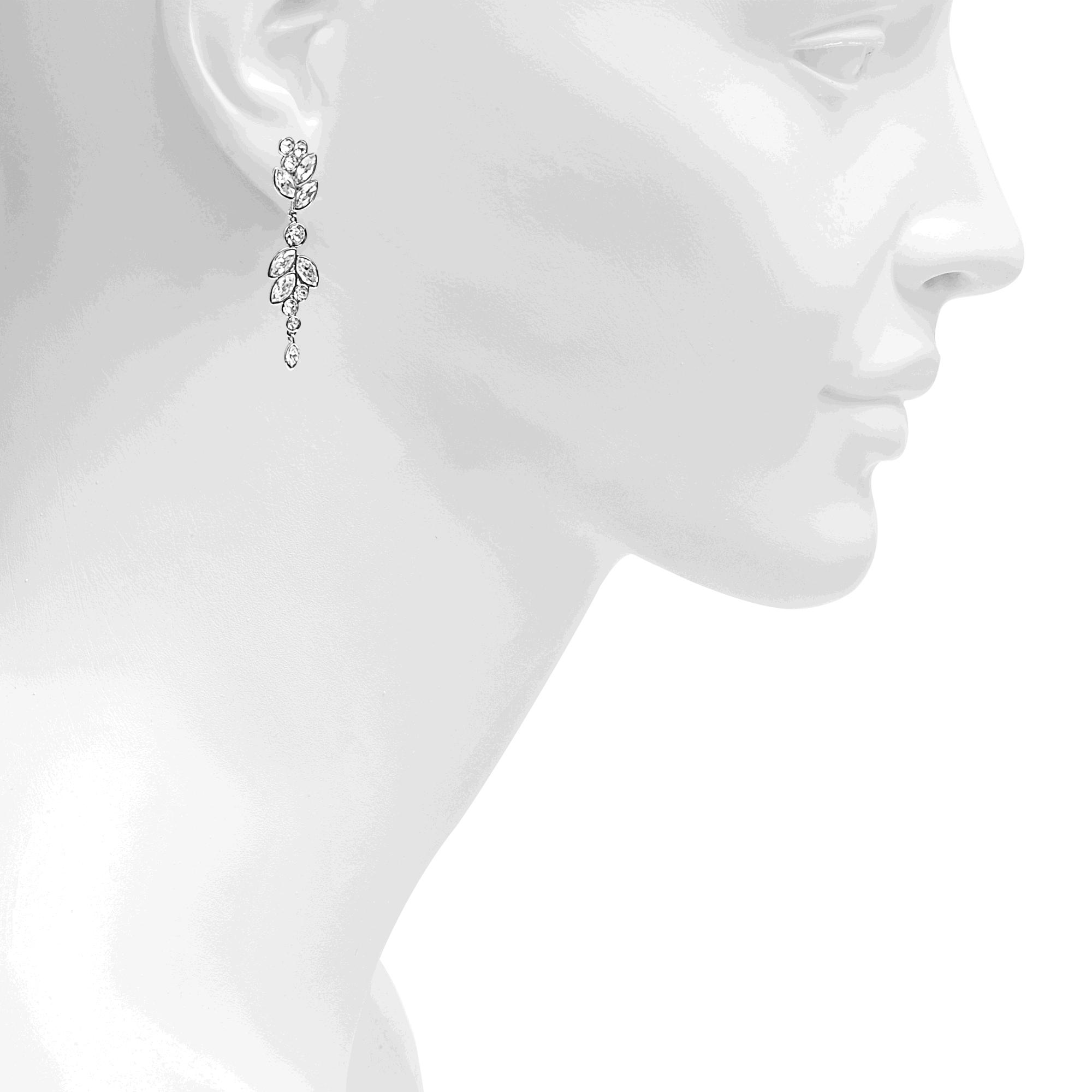 4ac3f4b1d Swarovski Diapason Earrings in Metallic - Lyst