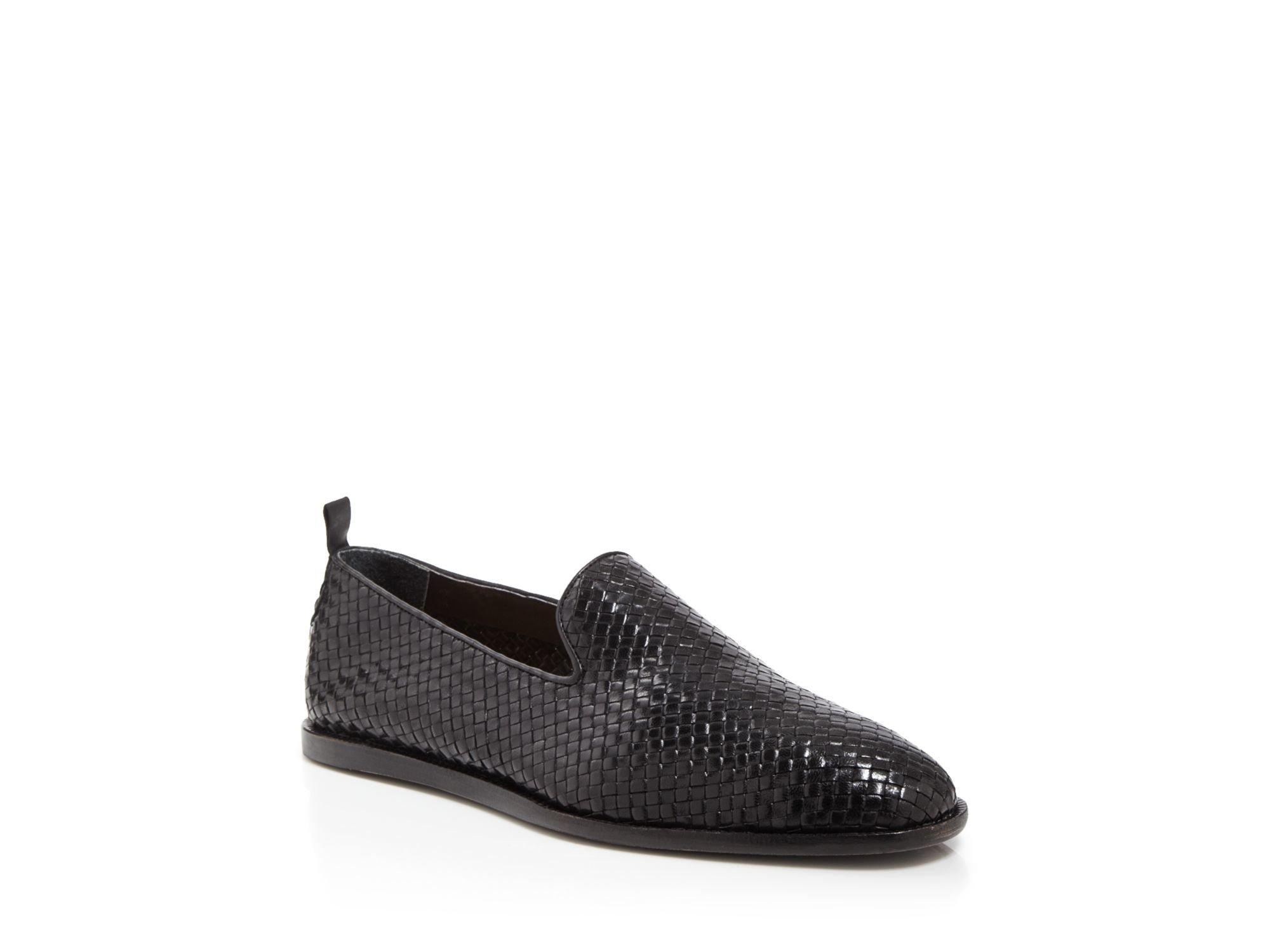 Black Woven Ipanema Loafers Hudson 06w2XZsfsl