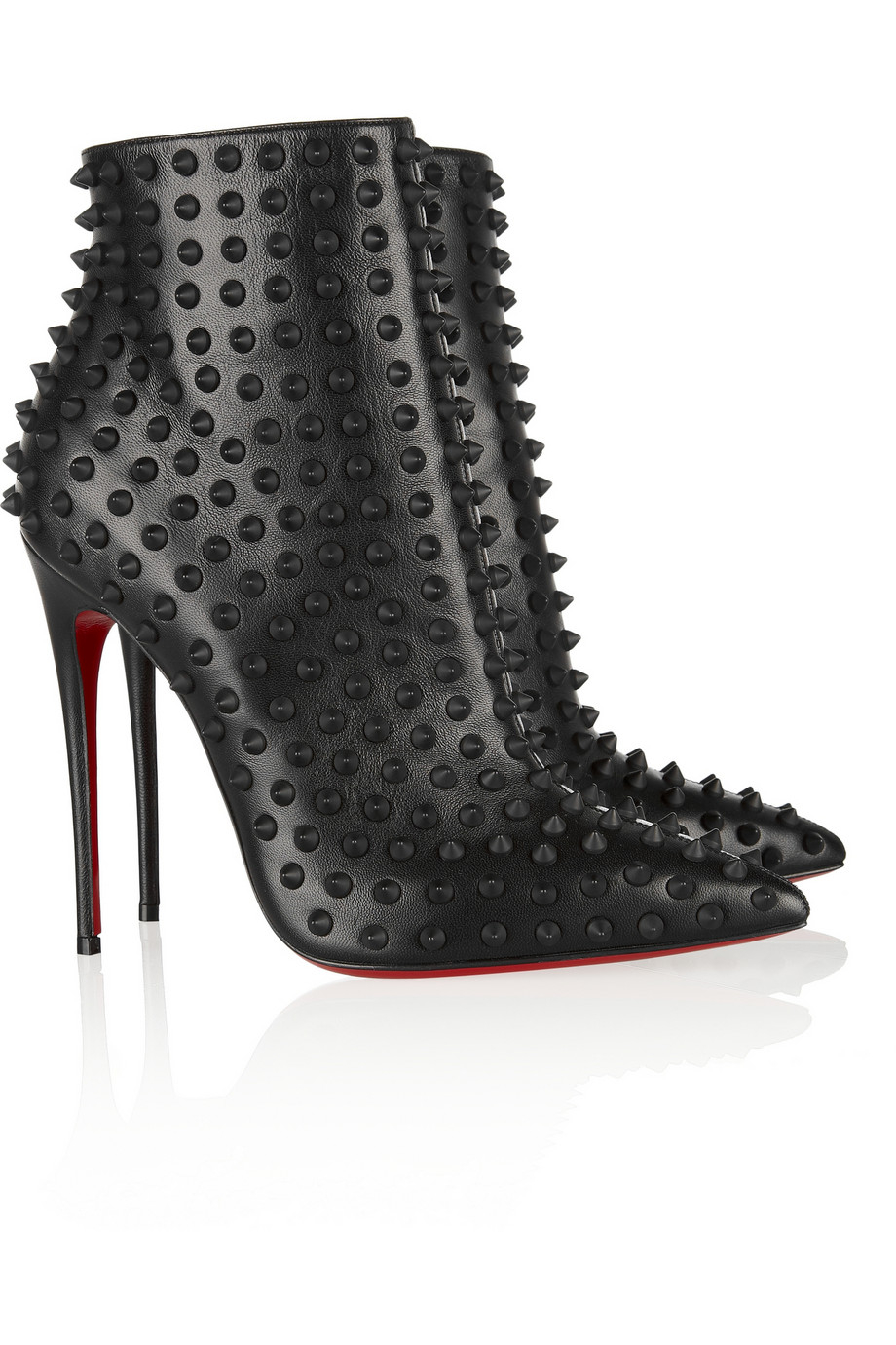 lyst christian louboutin snakilta 120 spiked leather. Black Bedroom Furniture Sets. Home Design Ideas