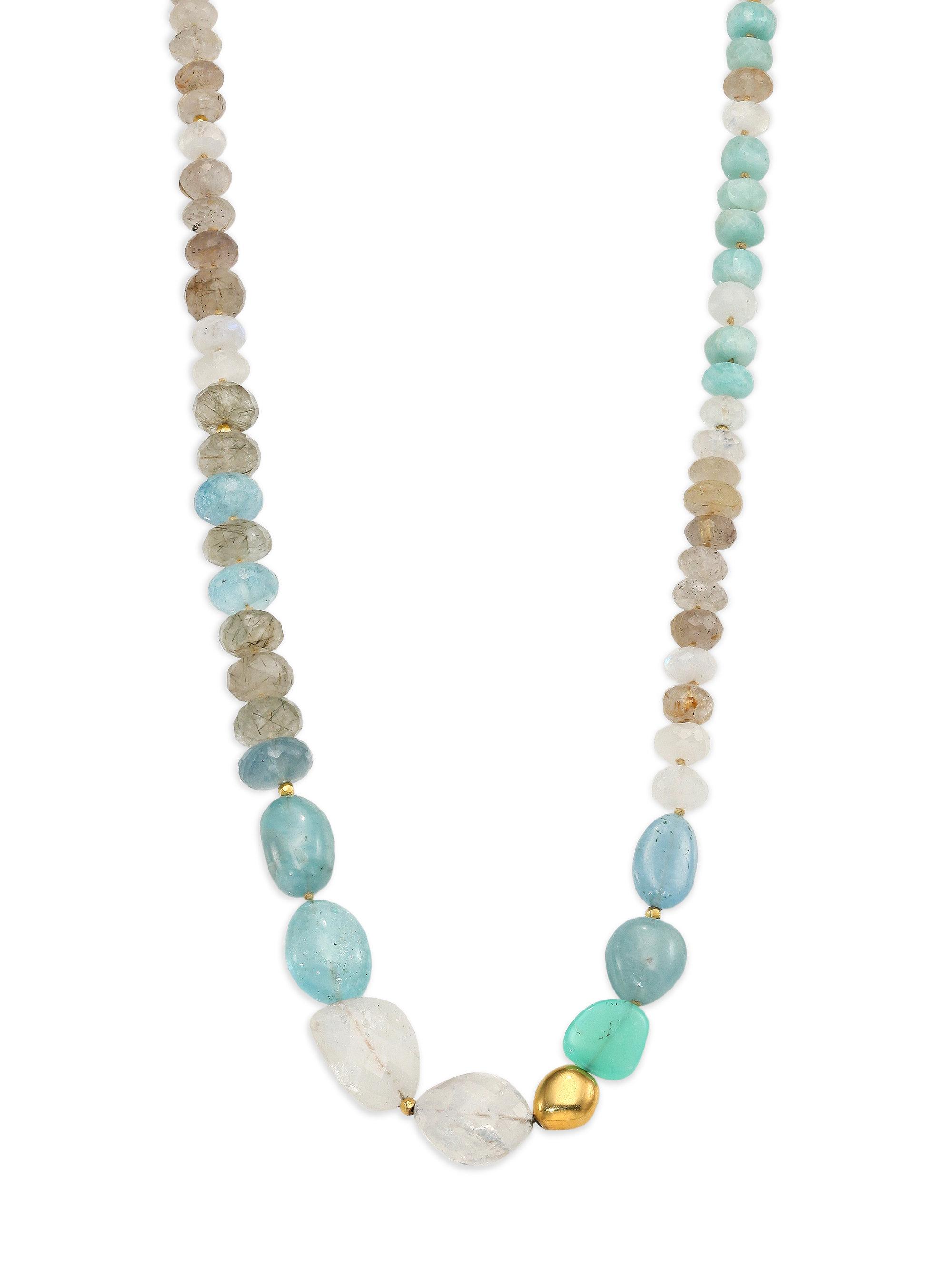 Lena skadegard Dunna Terra Semi-precious Multi-stone & 18k ...