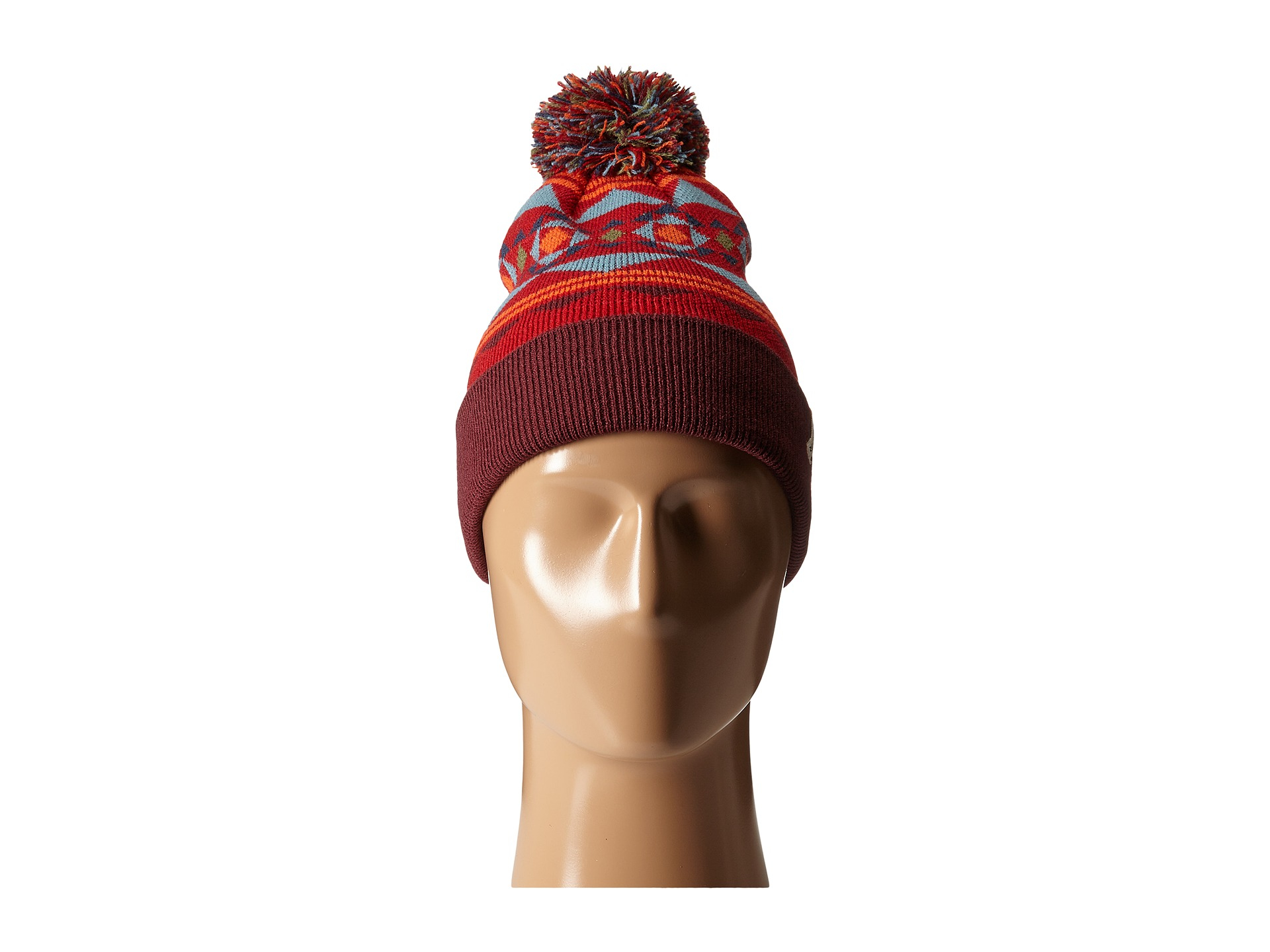 185c936c7db Lyst - Poler Woodsman Beanie in Red for Men