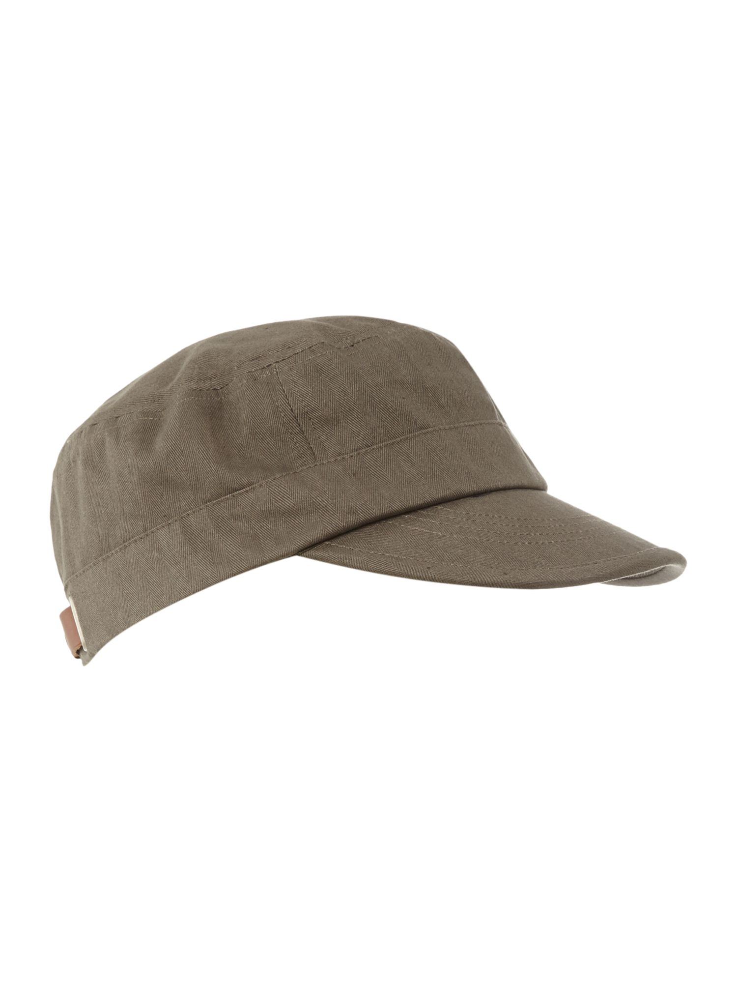 Lyst - Fred Perry Train Driver Style Hat in Natural for Men f34cf20d40a