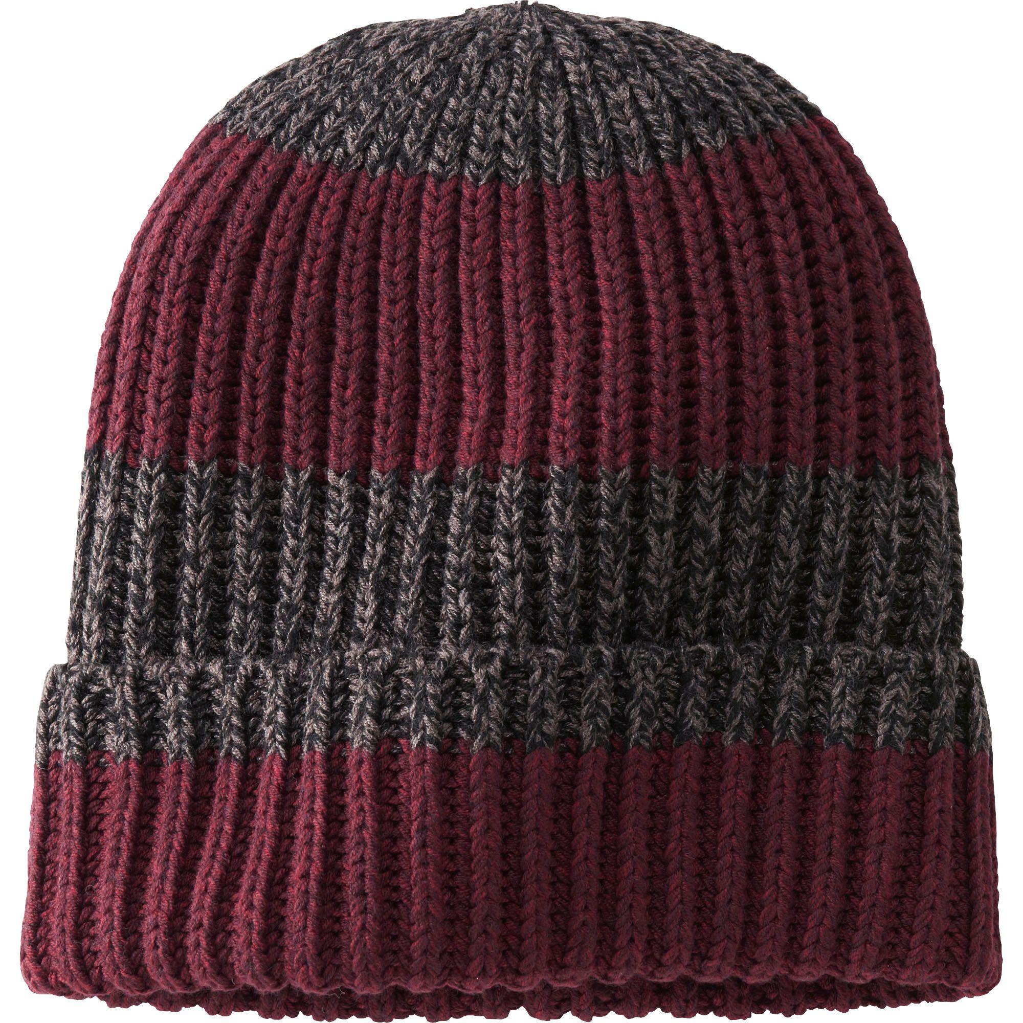 Knitted Cap Pattern : Uniqlo Men Heattech Knit Cap (Pattern) in Red for Men Lyst
