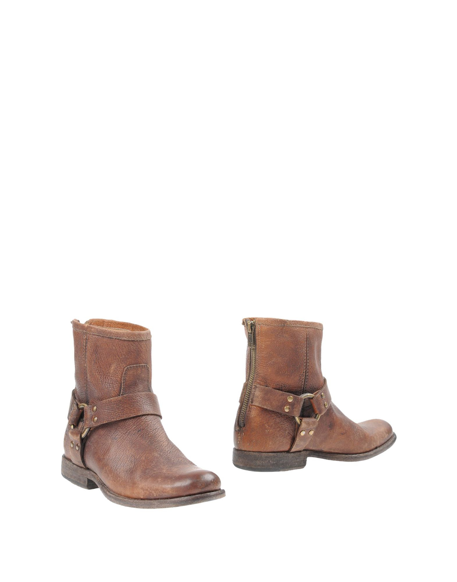 Wonderful Frye Ankle Boots In Brown  Lyst