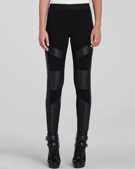 Leggings Solid & Pattern - Designer Leggings - Carbon
