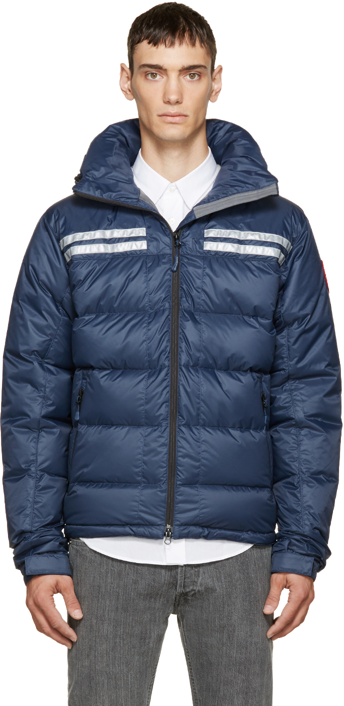 Canada Goose hats online 2016 - Canada goose Blue Down Summit Jacket in Blue for Men | Lyst