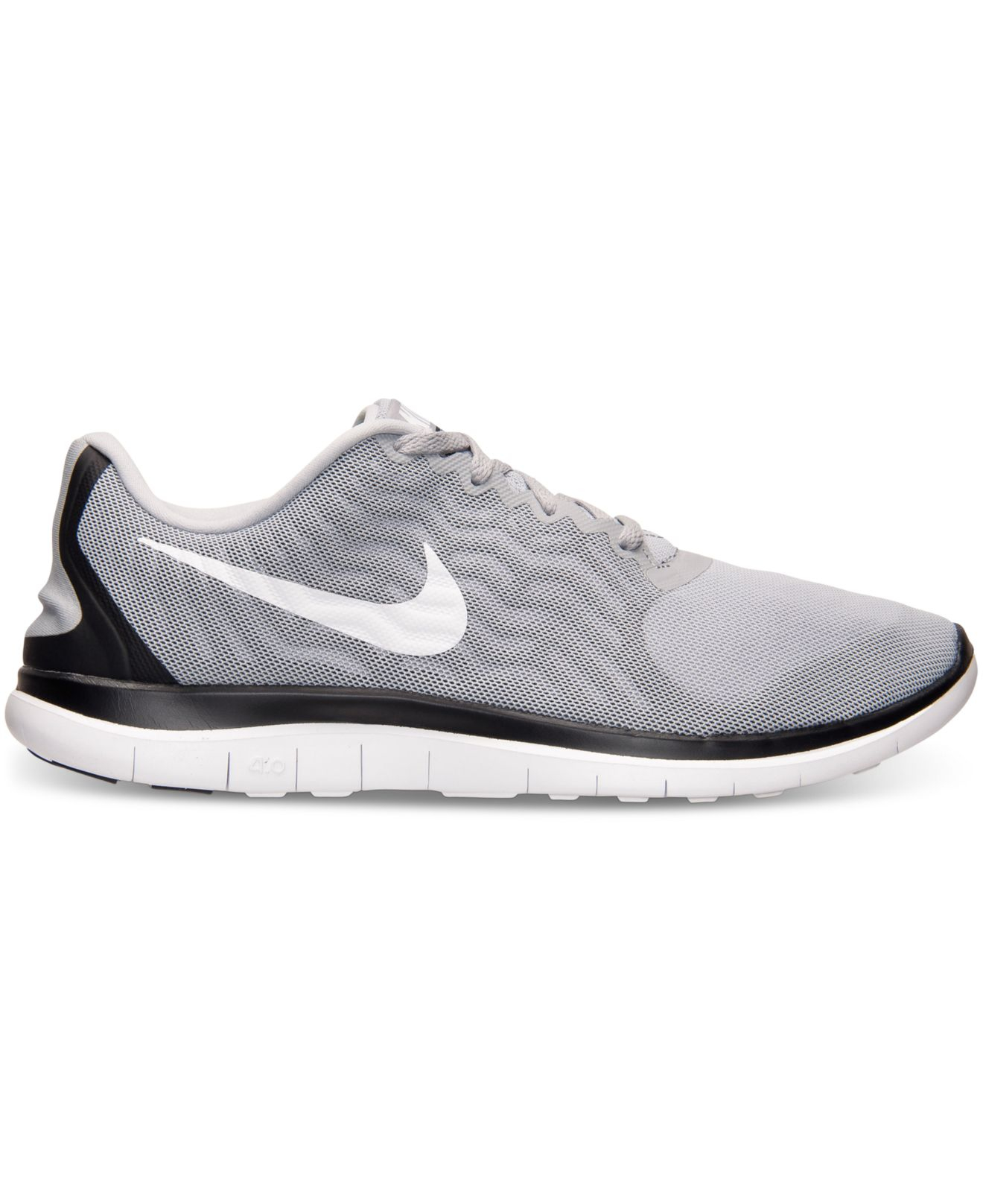 the latest bfa6a e4d46 Lyst - Nike Men s Free 4.0 V5 Running Sneakers From Finish Line in ...