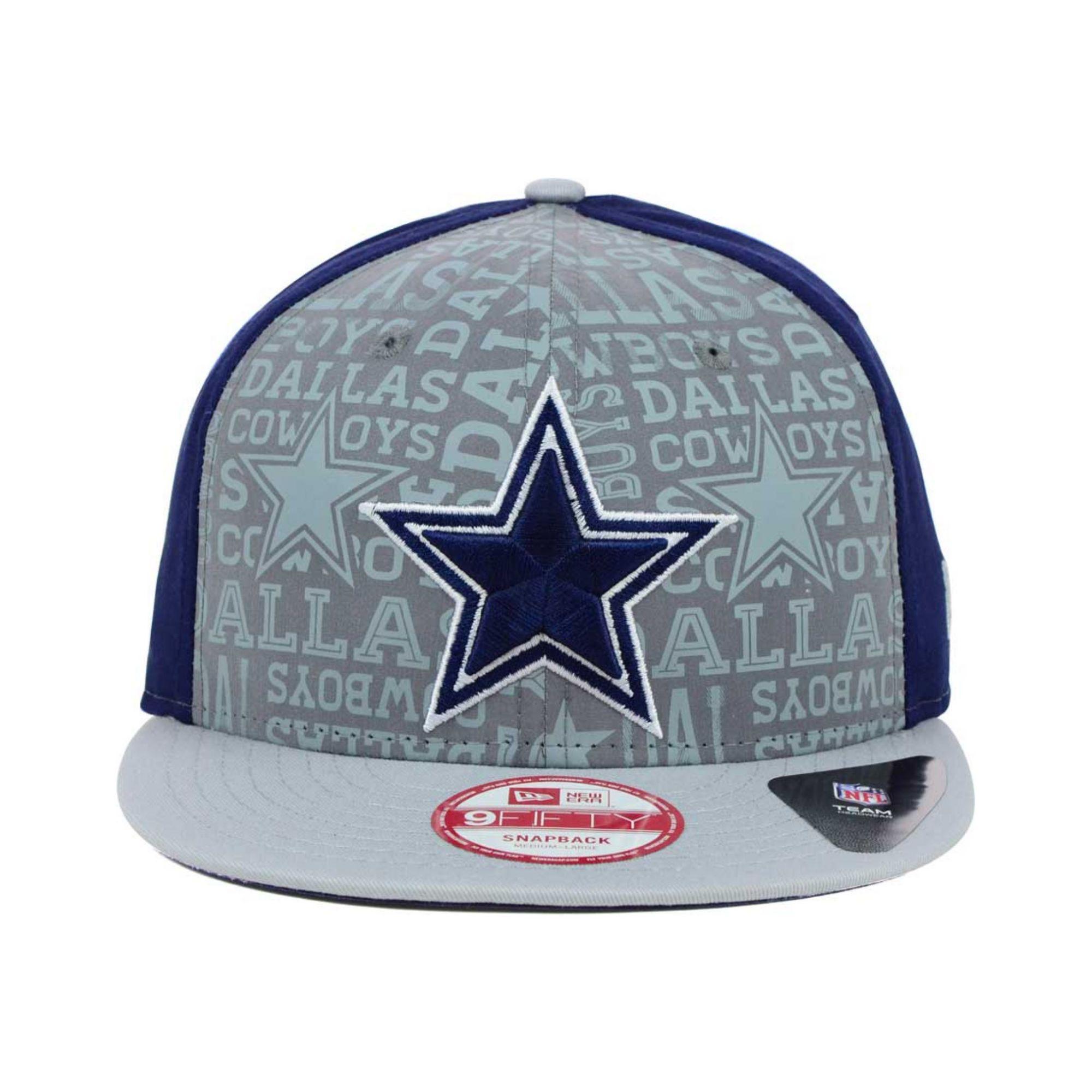 0c4ddf9cc KTZ Dallas Cowboys Nfl Draft 9fifty Snapback Cap in Gray for Men - Lyst