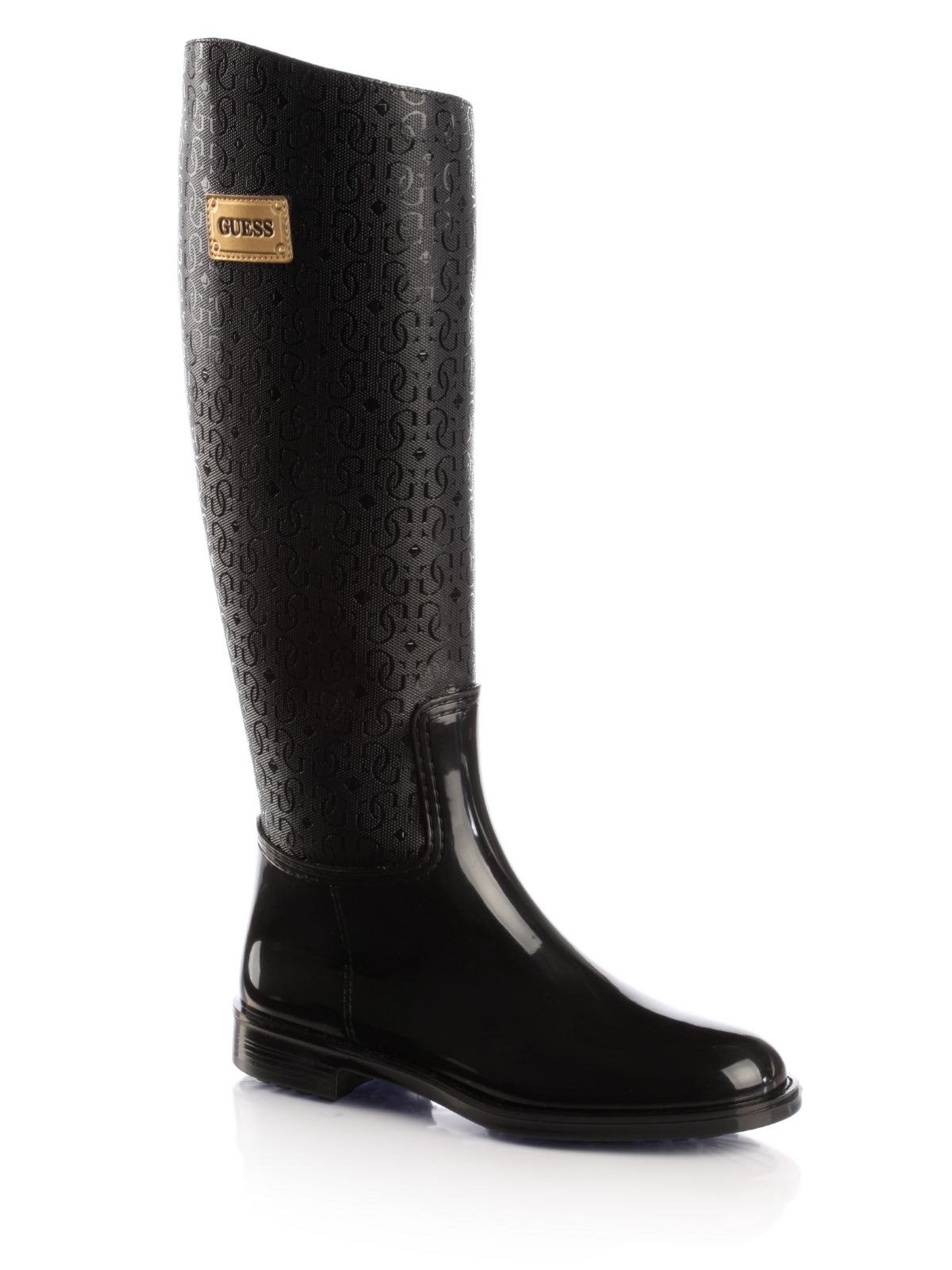 Guess Sissy Rain Boots In Black Lyst