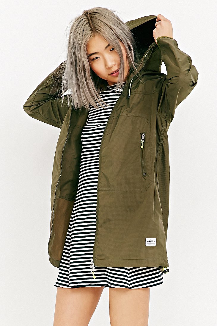 Penfield Inuvik Lightweight Parka in Green | Lyst