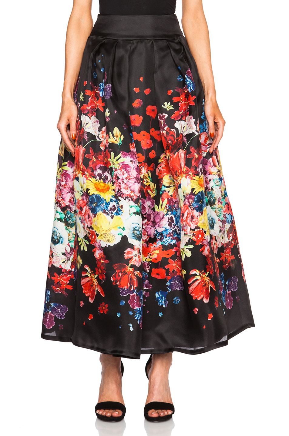 Floral Long Skirts - Dress Ala