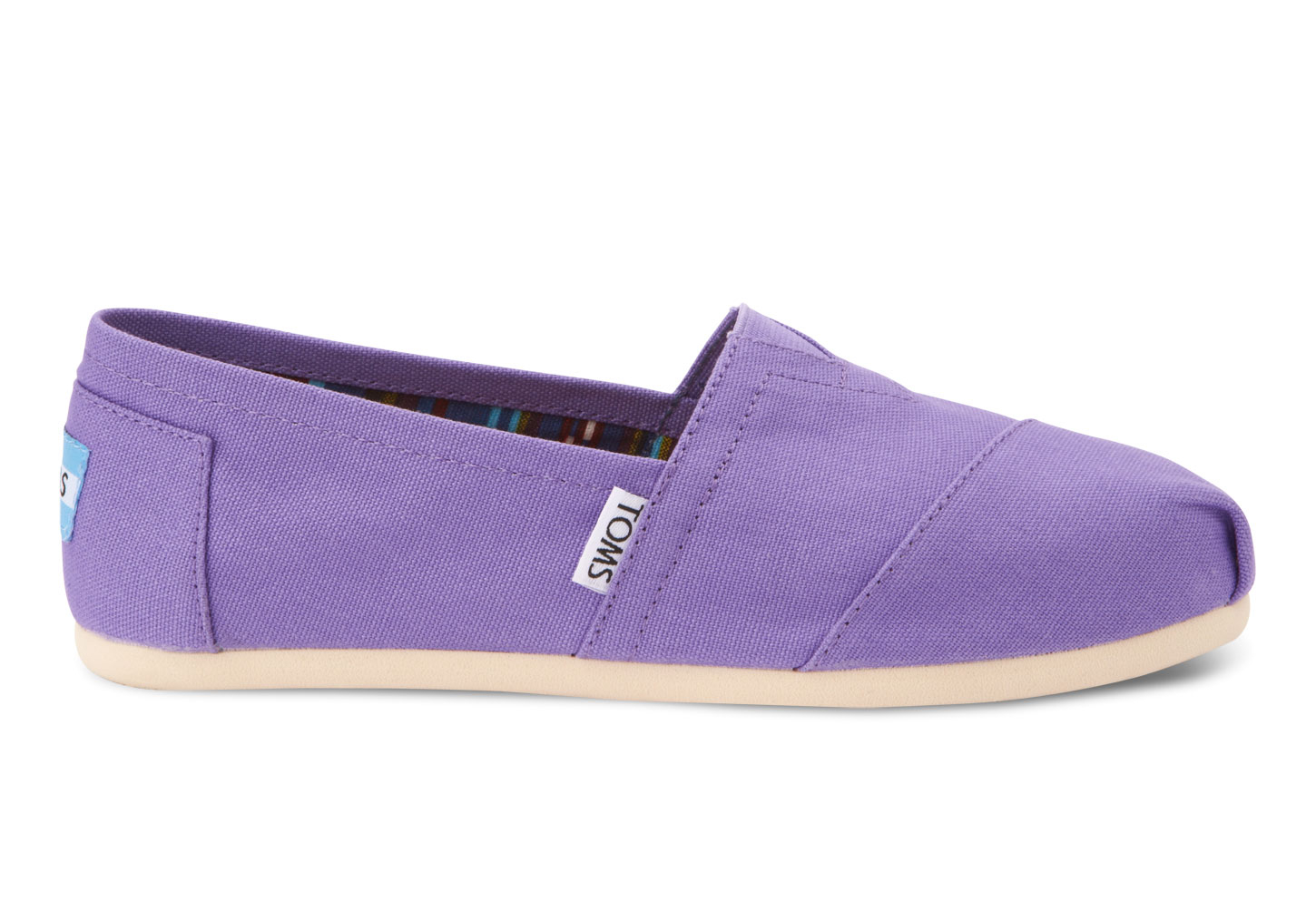 d88672ee6a6 TOMS Womens Canvas Classics in Purple - Lyst