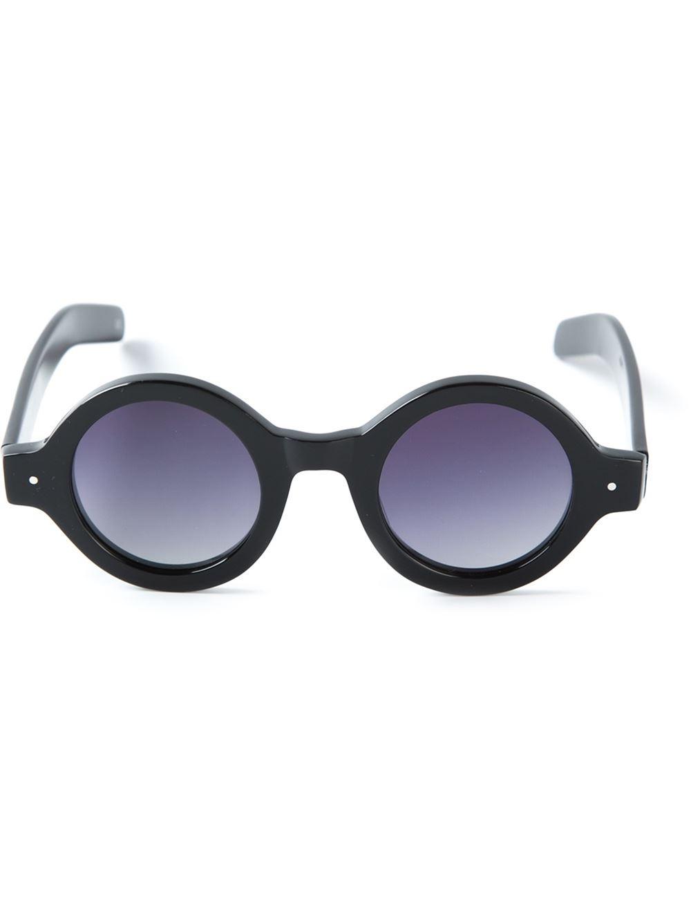 4f1bbfe66f5d Lyst - Minimarket Fish Eye Sunglasses in Black