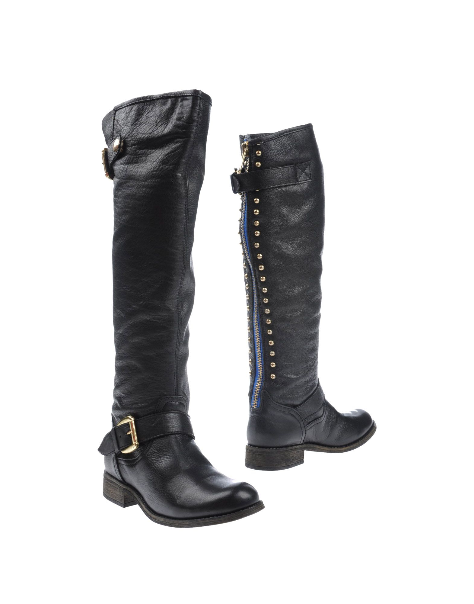 steve madden boots in black lyst