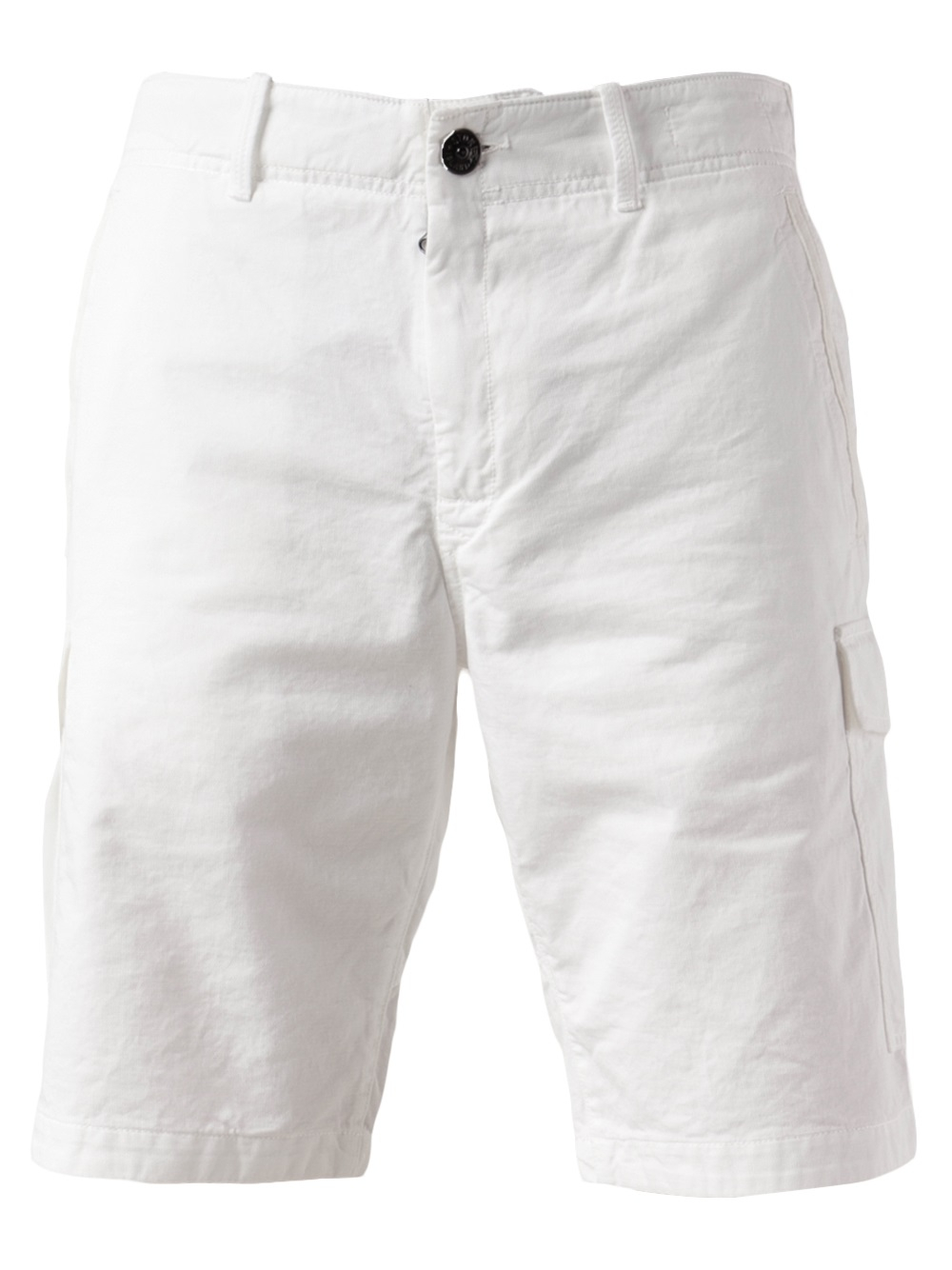 Stone island Cargo Short in White for Men | Lyst