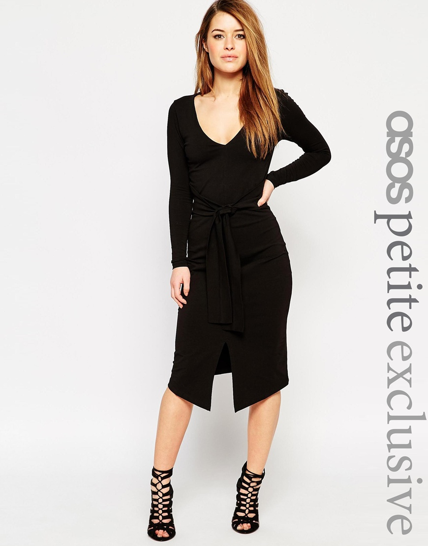 Business bodycon dress long sleeve maxi tie waist for beginners