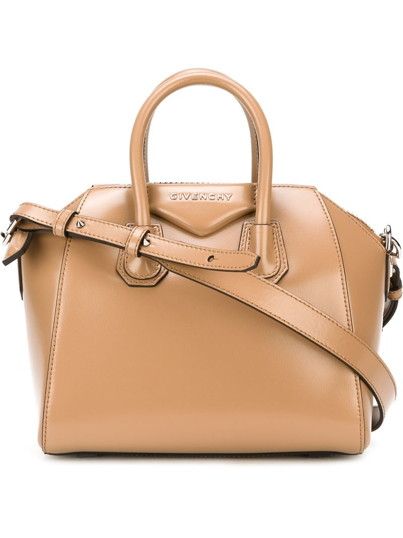 Neutrals Antigona Bag Mini Nude Givenchy xYwwUPgO