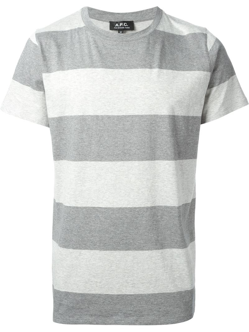 Stripes T Shirt Men