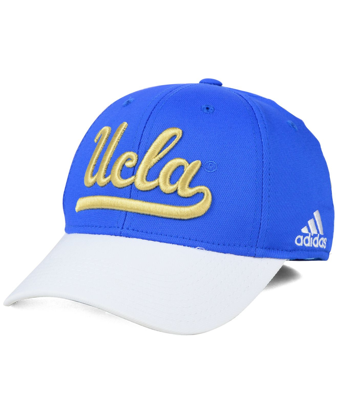 269da07b Lyst - Adidas Originals Ucla Bruins Structured Flex Cap in Blue for Men
