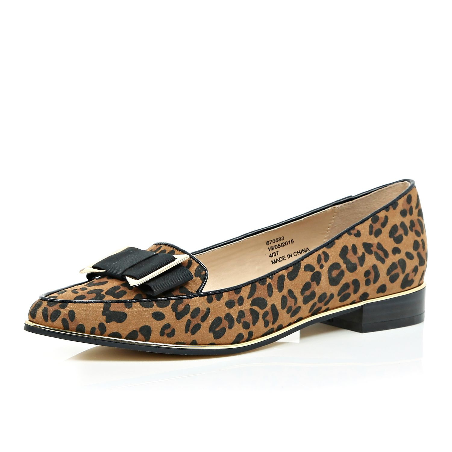 Beautiful, Comfortable, Elegant, Gorgeous Leopard Print Flats Pointy Toe Ankle Strap Flat Shoes you best choice for Work, School, Date, Big day, Going out, Hanging out -TOP Design by FSJ5/5(5).