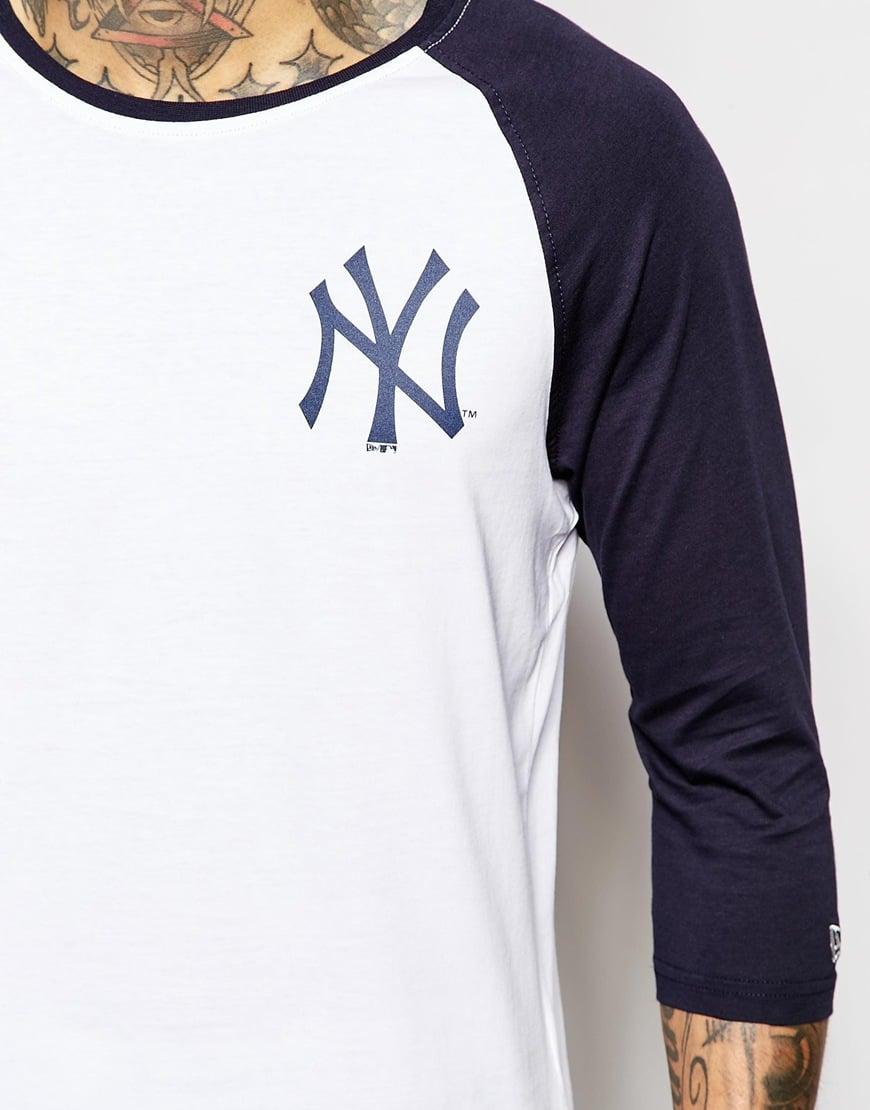 Lyst - KTZ Ny Yankees Raglan T-shirt in Blue for Men 16e4c78b71b2