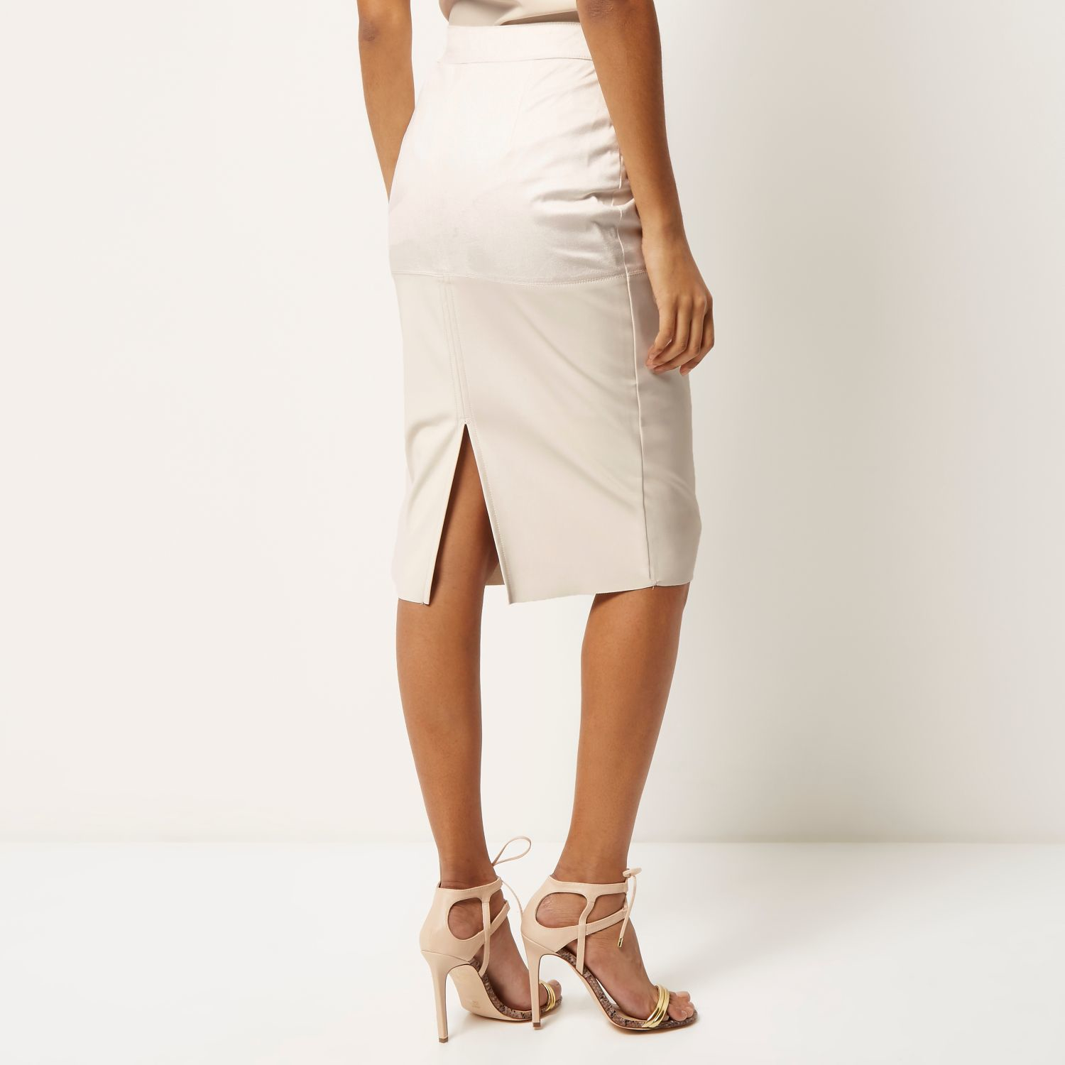 Cream pencil skirt h&m – The most popular models skirts
