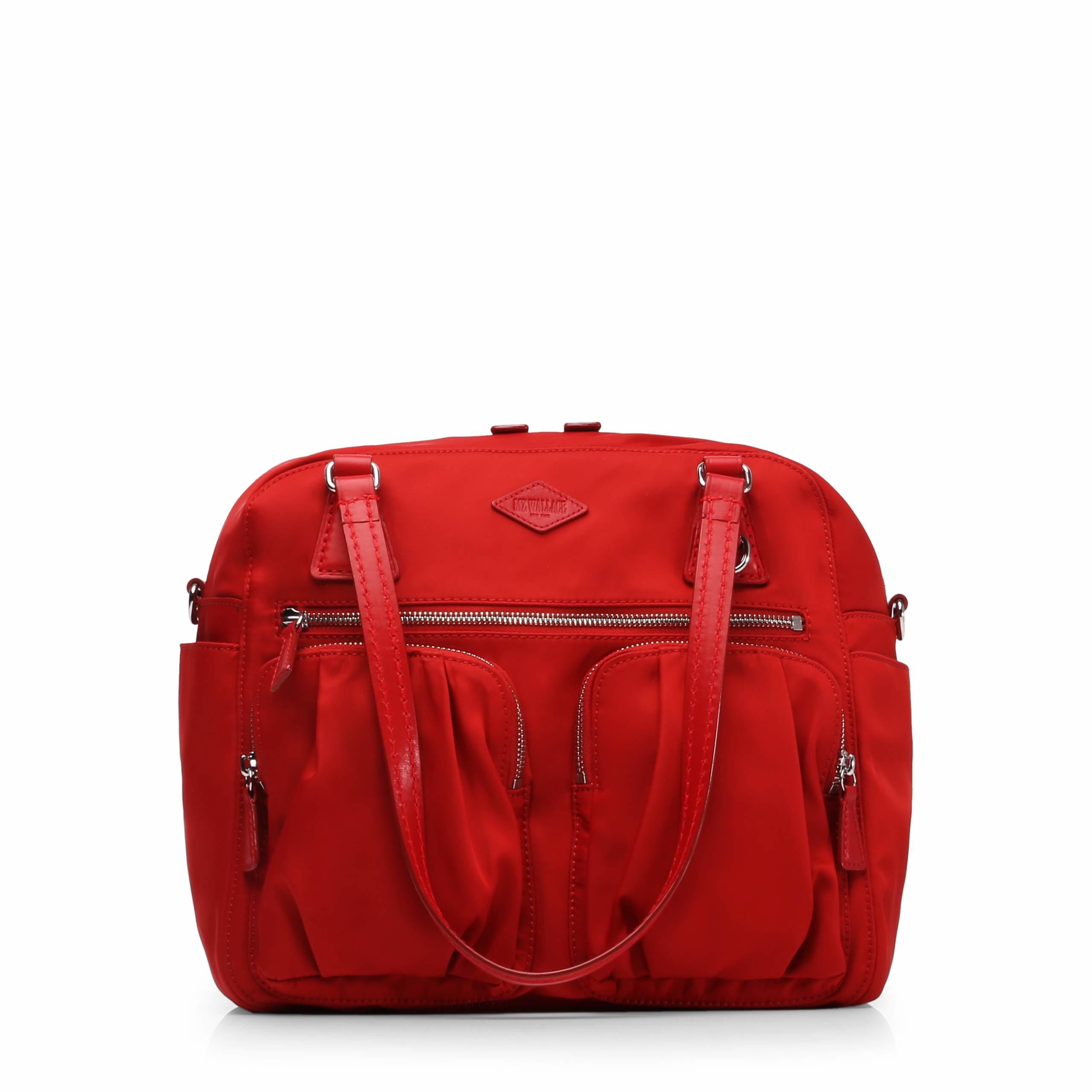 509f93f5377 Lyst - MZ Wallace Poppy Bedford Roxy in Red