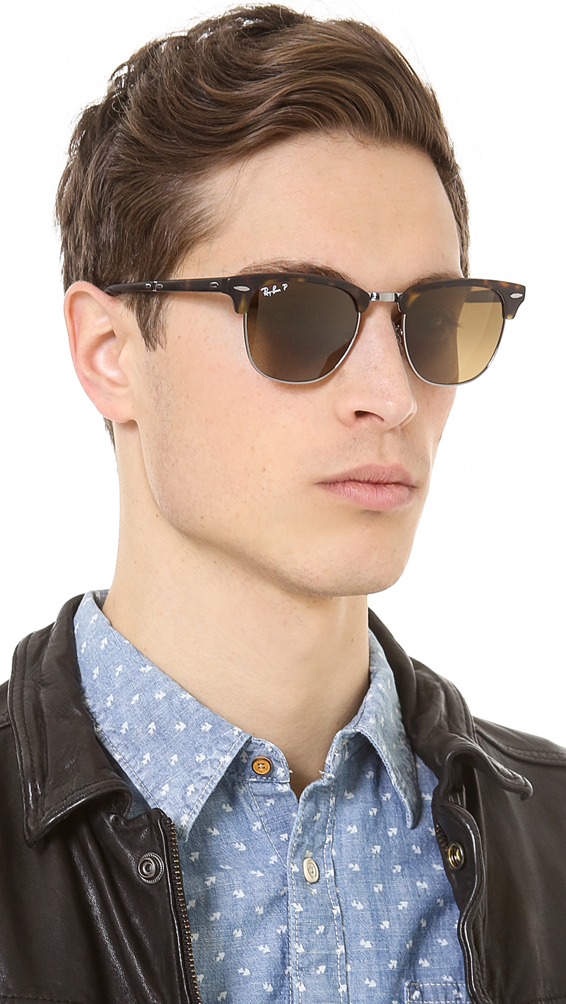 ray ban havana polarized sunglasses  gallery