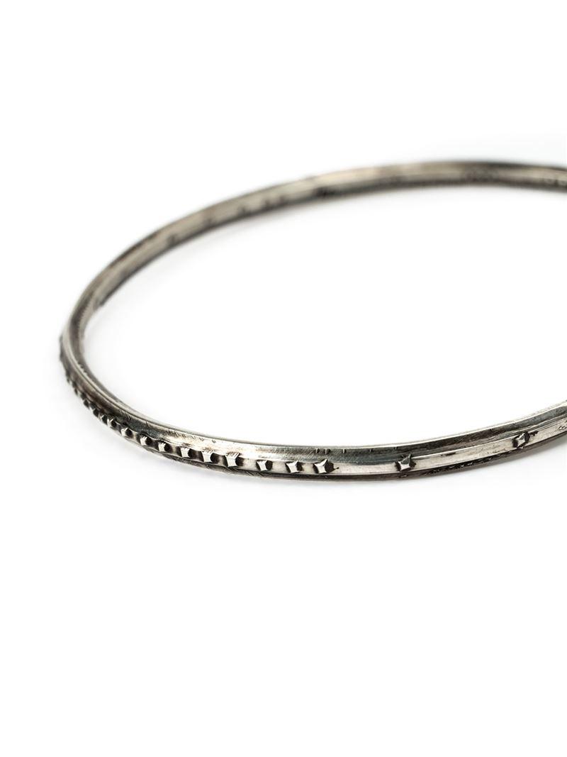Werkstatt München hook closure bracelet - Metallic RB8oX