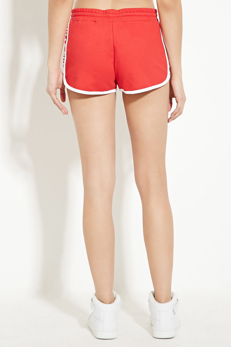 Forever 21 Chicago Bulls Dolphin Shorts in Red | Lyst
