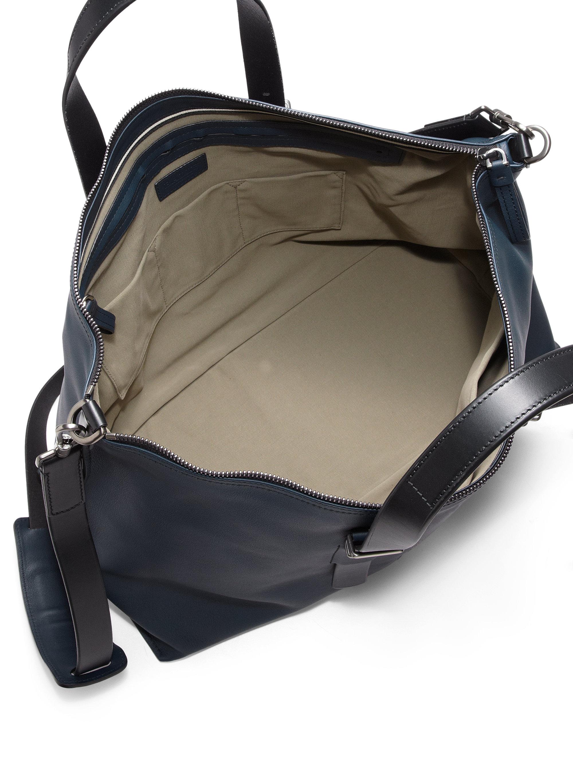 Lyst Bally Boskar Weekender Bag In Blue For Men