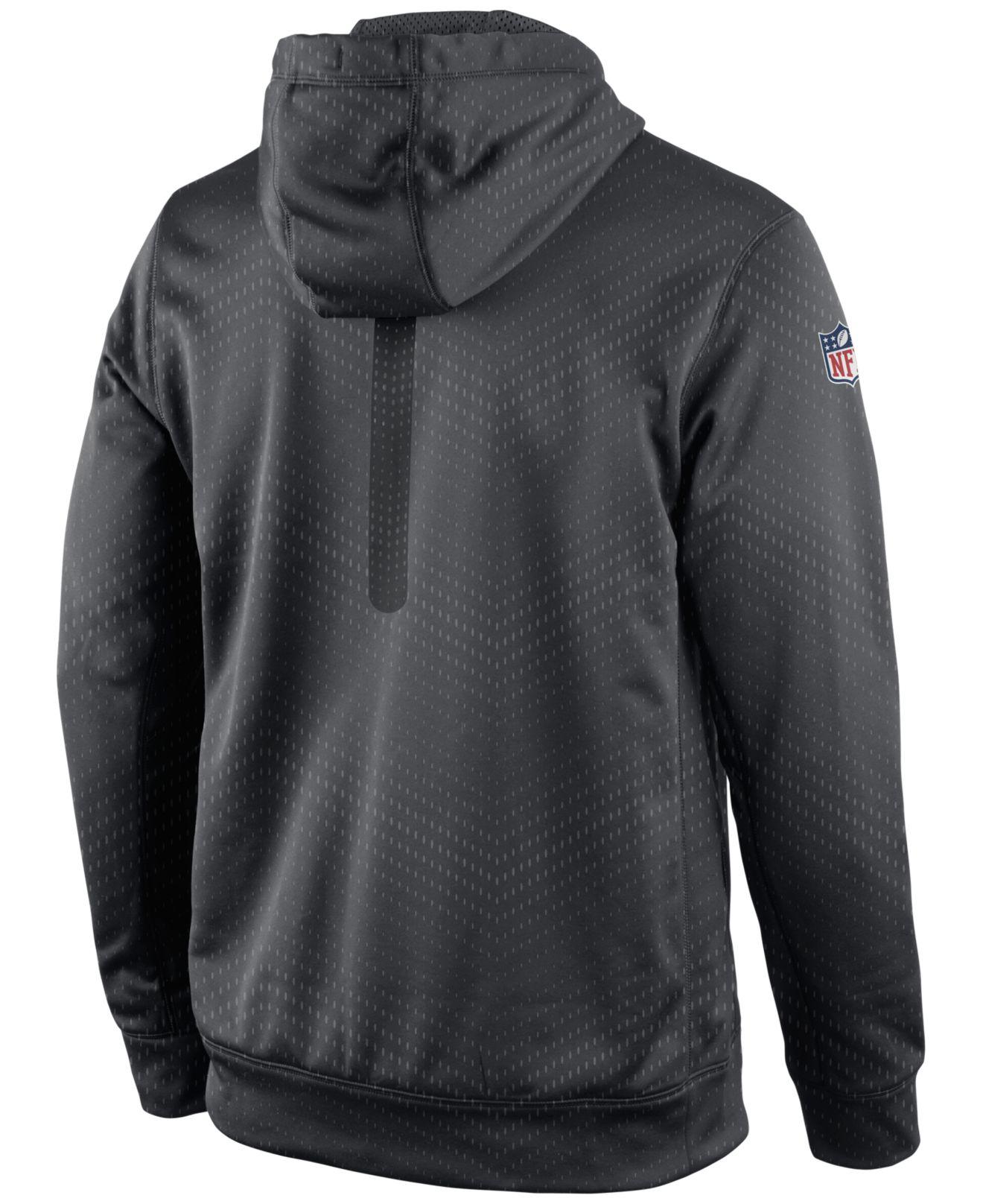 Nike Men's Jacksonville Jaguars Sideline Ko Fleece Hoodie in Gray ...