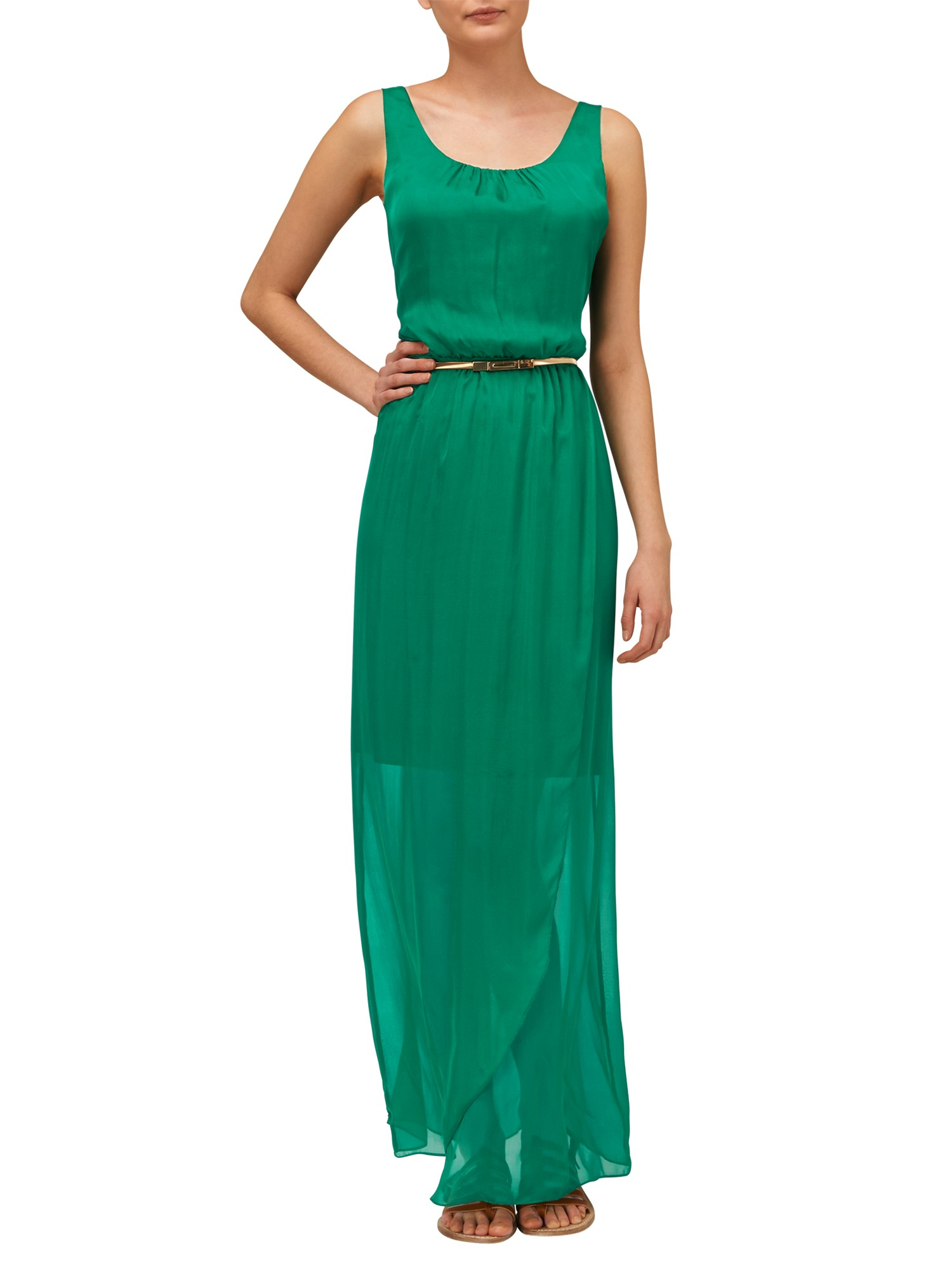 Phase eight green maxi dress