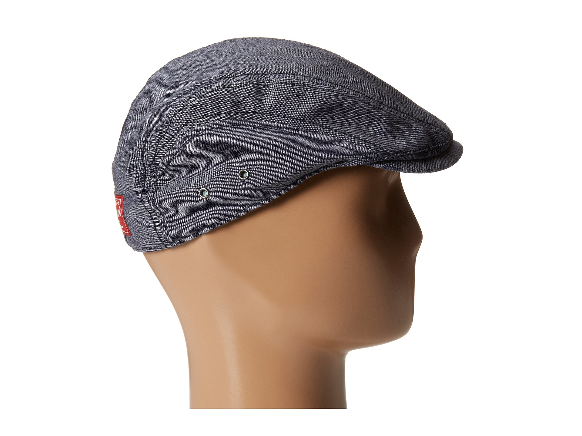 f02d11e22db Lyst - Original Penguin Kennedy Solid Driving Cap in Blue for Men