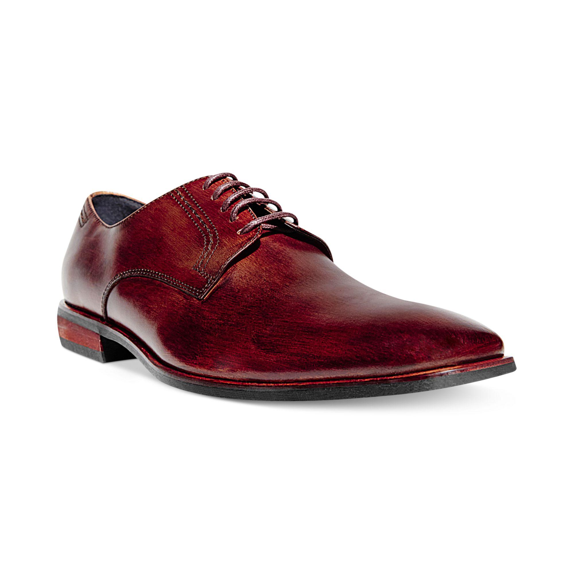 steve madden dewke dress shoes in brown for lyst