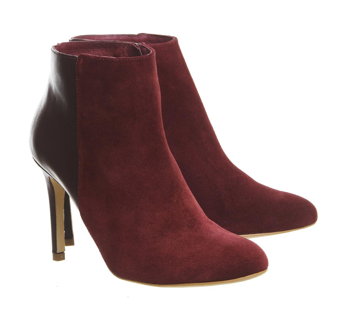 office innocence shoe boots in purple lyst