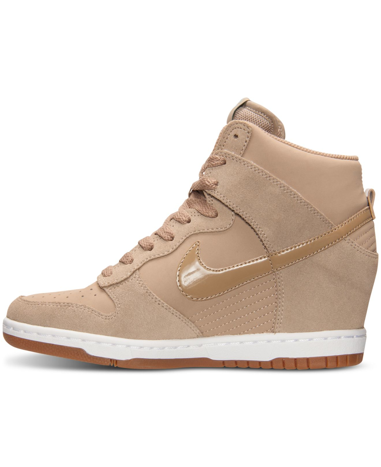 premium selection fa3ab 3062d Previously sold at Macys · Womens Nike Dunk Sky Hi Womens Nike Dunk Womens Nike  Dunk Sky Hi Essential Sneakers ...