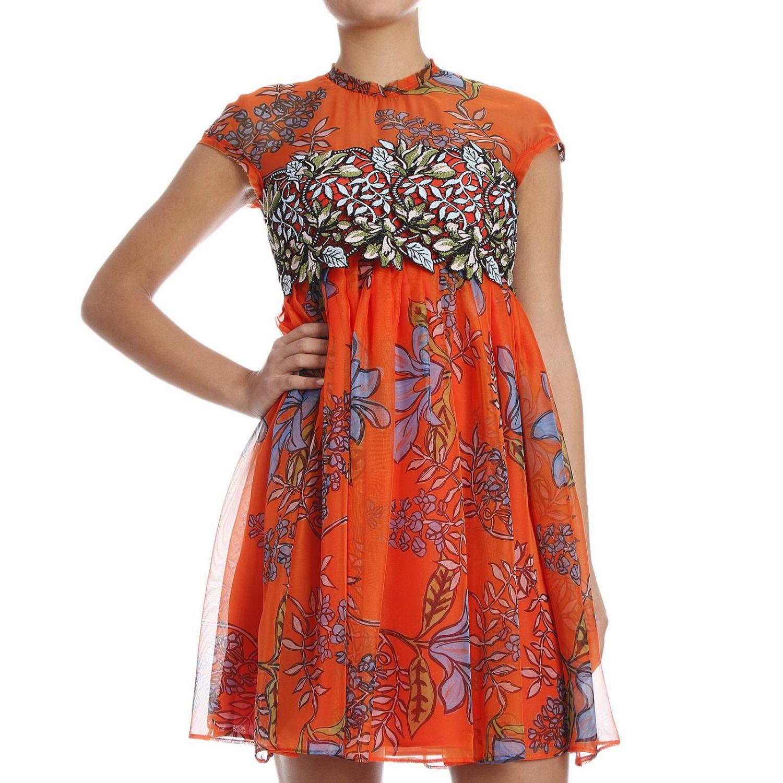Lyst - Pinko Women s Dress in Orange 2274a7d90c9