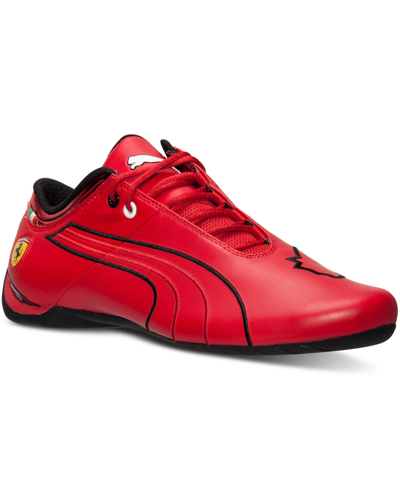 Red Driving Shoes Men