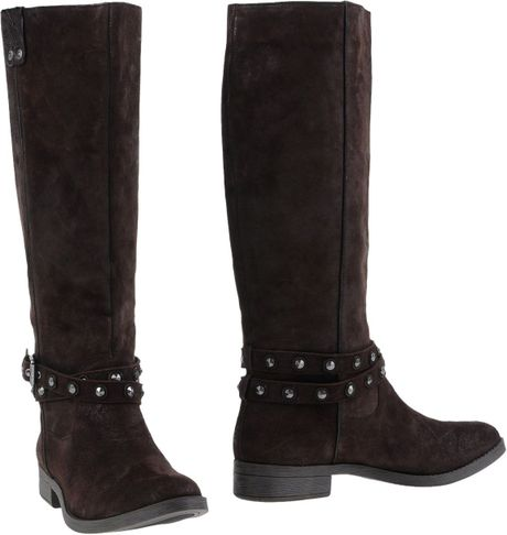 Calvin Klein Jeans Boots in Brown (Dark brown)