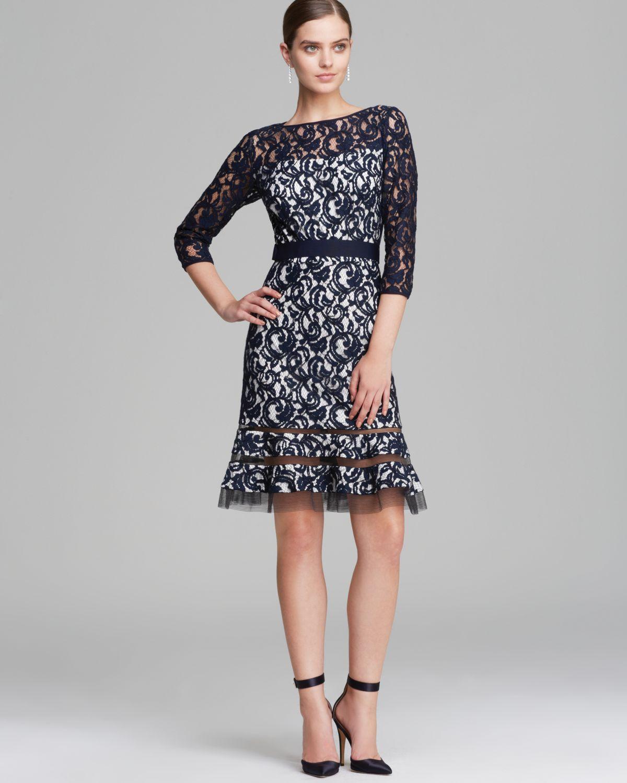 Quarter Sleeve Lace Dresses