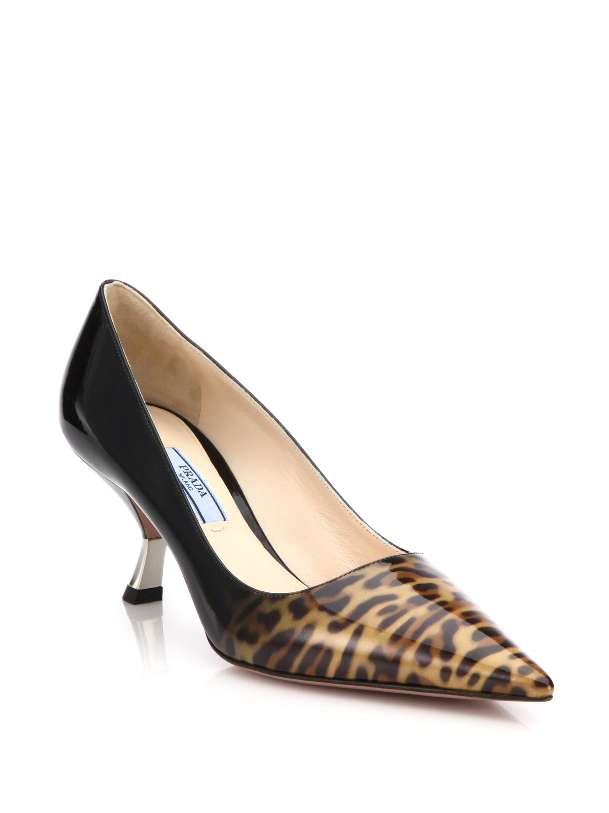 Printed High Heel Shoes
