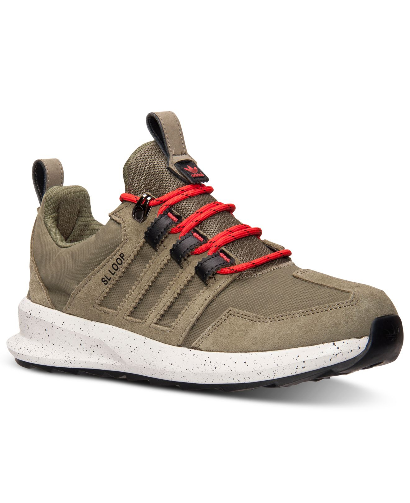 pretty nice e2d10 c096a Lyst - adidas Originals Men s Sl Loop Trail Runner Casual Sneakers ...