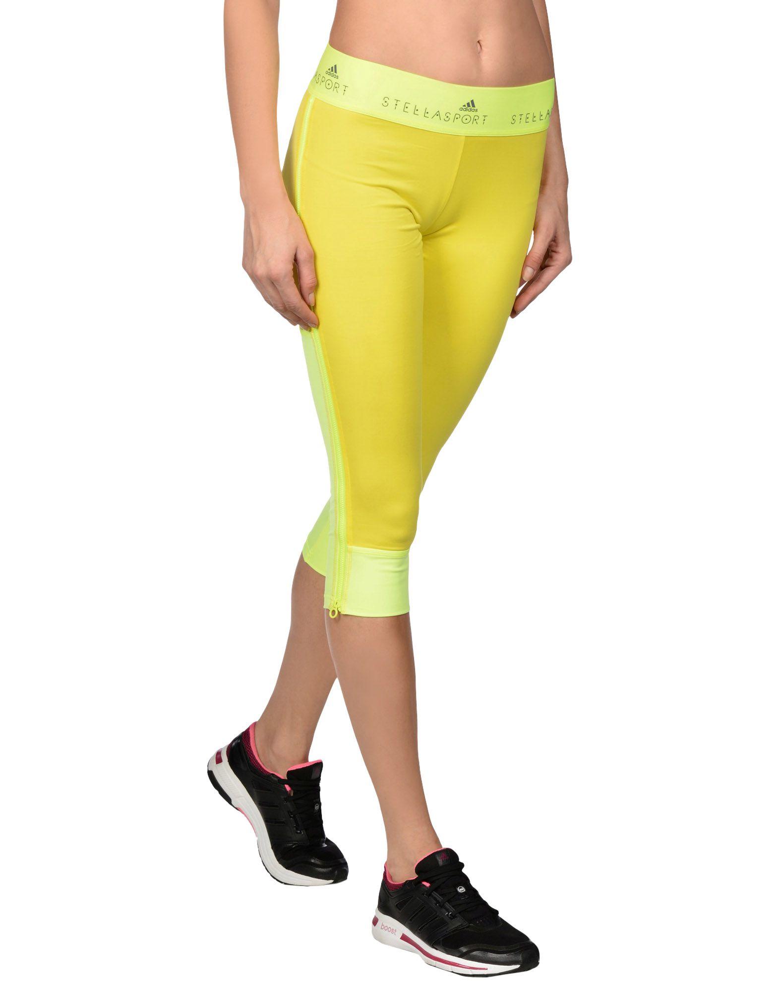 adidas by stella mccartney leggings in green lyst. Black Bedroom Furniture Sets. Home Design Ideas