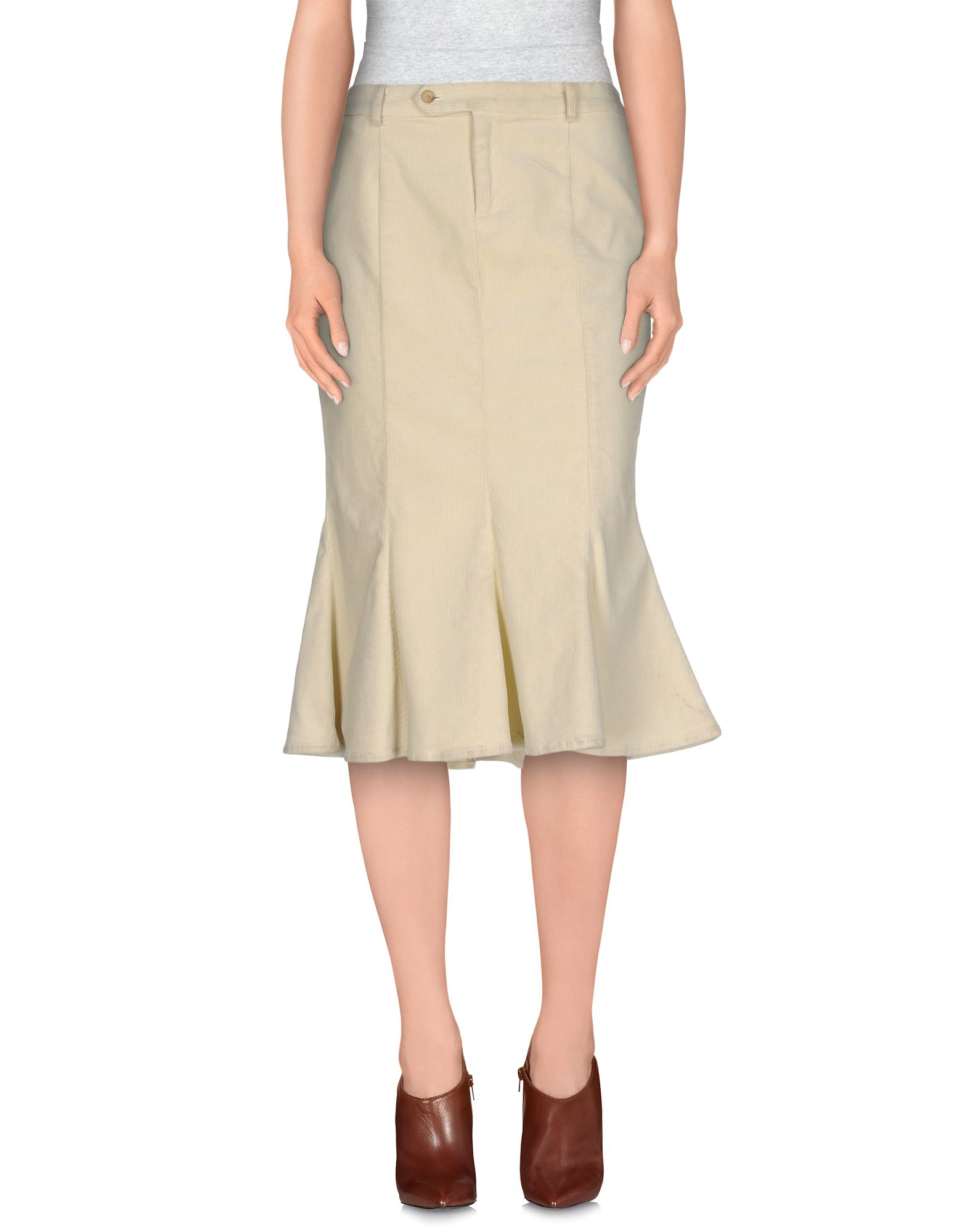 Pink pony 3/4 Length Skirt in Natural