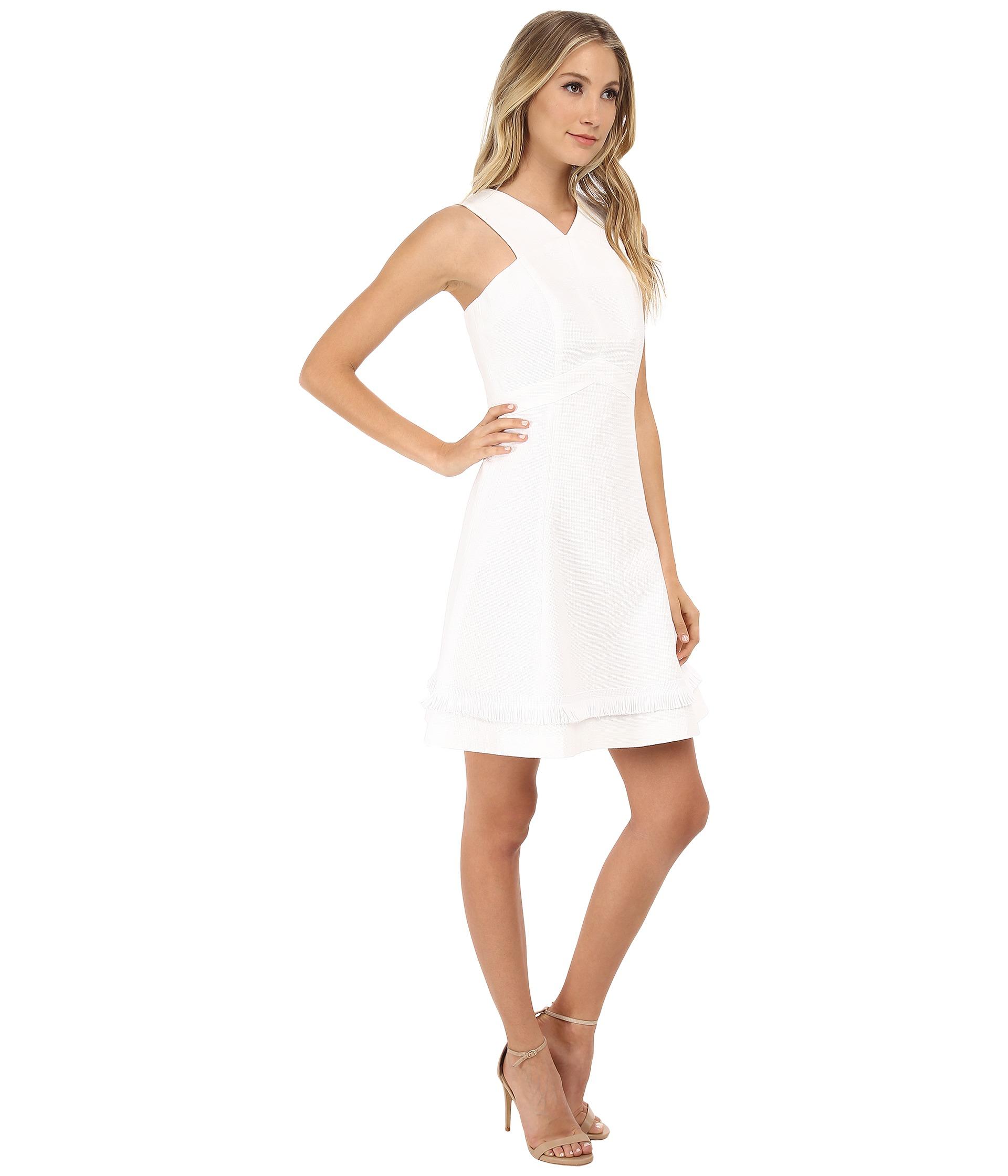 Shoshanna Junelle Dress in White  Lyst