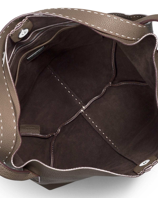 5d9c7945c1 Michael Kors Rogers Large Slouchy Hobo Bag in Brown - Lyst
