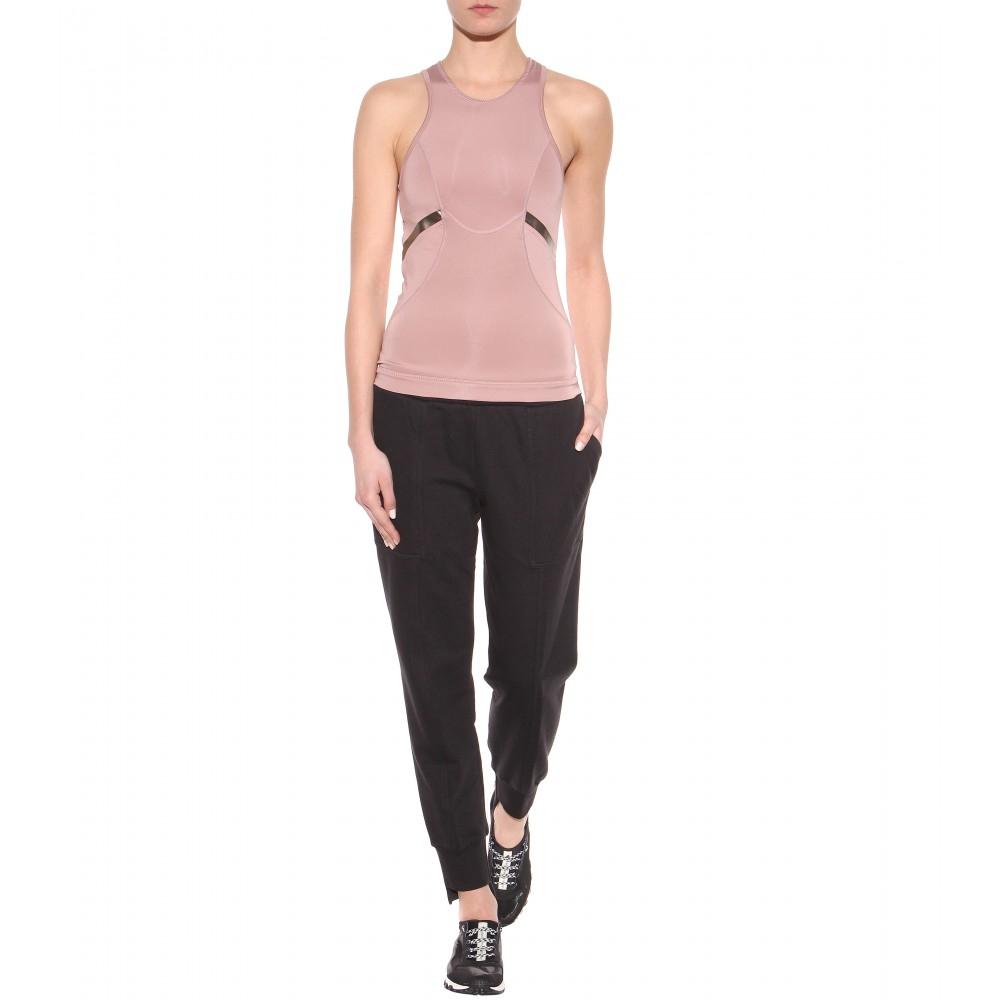 0e92f438a2f7 adidas By Stella McCartney Essentials Track Pants in Black - Lyst