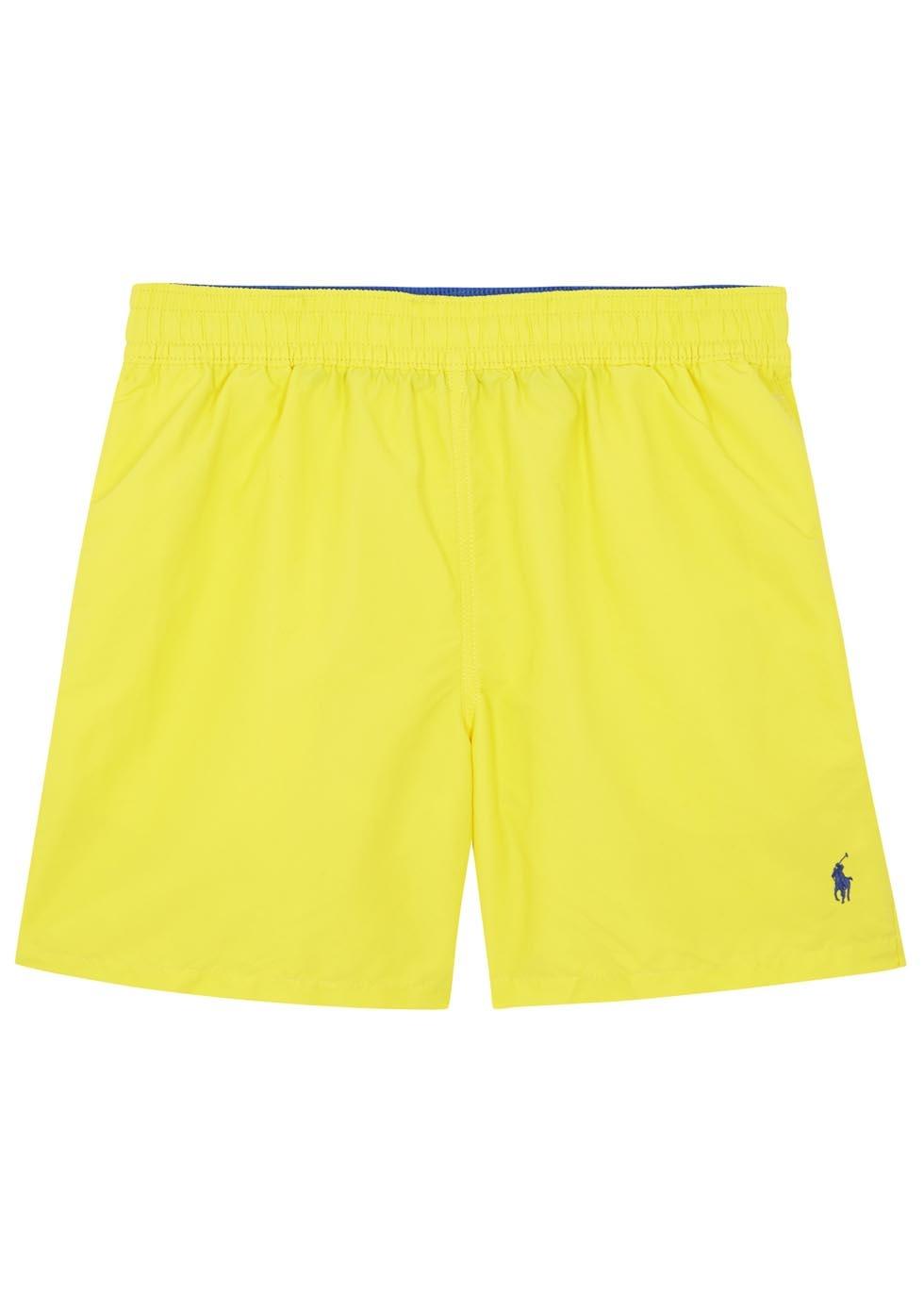 a9bfc4b6 Polo Ralph Lauren Hawaiian Bright Yellow Swim Shorts in Yellow for ...